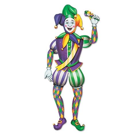 Cheap Decorations For Home by Jointed Mardi Gras Jester Partycheap