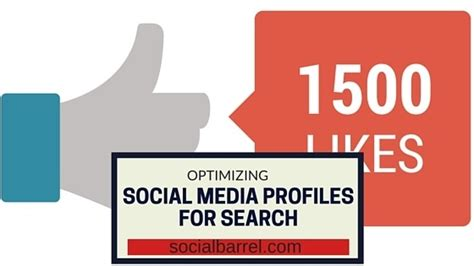 Social Profile Search Ways To Optimize Social Media Profiles For Search