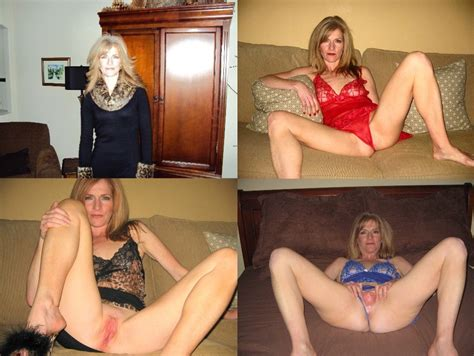 Amateur Milf Wife Clothed Naked Before After 2 High