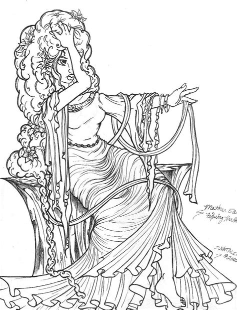 adult coloring pages fantasy printable freecoloring4u com