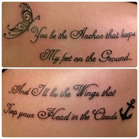 sister quote tattoos tattoos quotes personalized with a