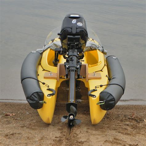 inflatable boat gas motor the wavewalk 500 motorized for offshore fishing