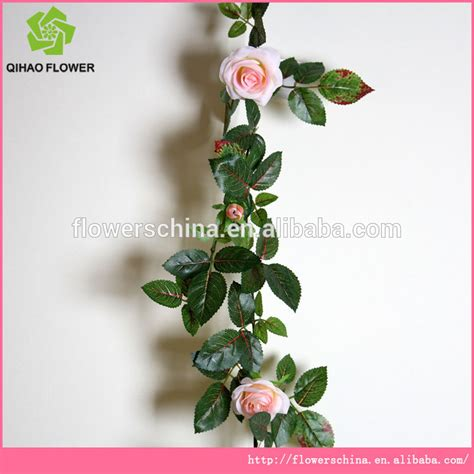 Bunga Artificial Dekorasi Bouqet Bunga Meja 1 high quality plastic silk artificial flower vines for wall decoration buy plastic wall flower