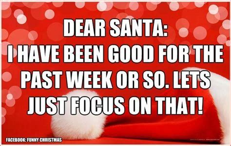 dear santa    good    week   lets  focus   pictures