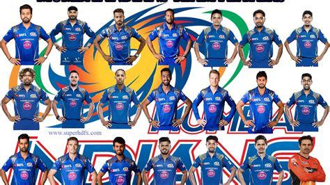 ipl mumbai team players mumbai indians players list ipl 2017 youtube