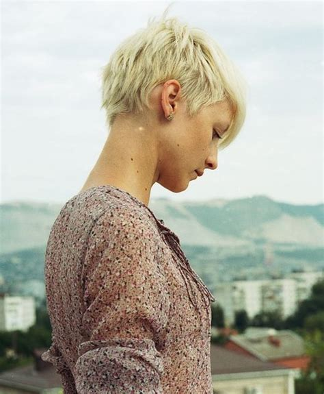 hair cut back of hair shorter than front of hair 14 very short hairstyles for women popular haircuts