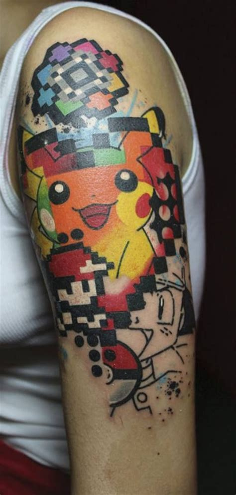pokemon tattoo sleeve jef palumbo