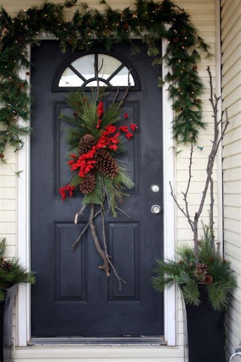 beautiful christmas front door decor ideas interior god