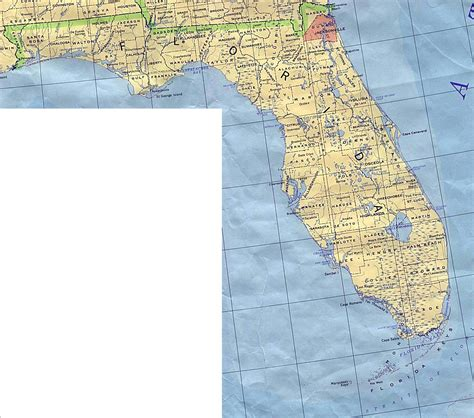 florida and map florida base map