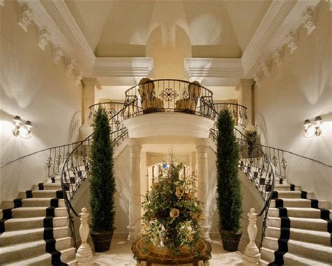 Luxury Home Stairs Design Luxury Homes Plans