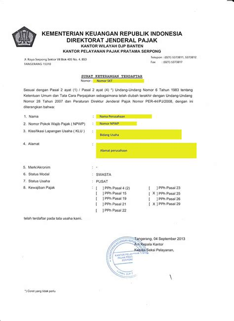 membuat npwp pajak membuat npwp blog bambang santoso