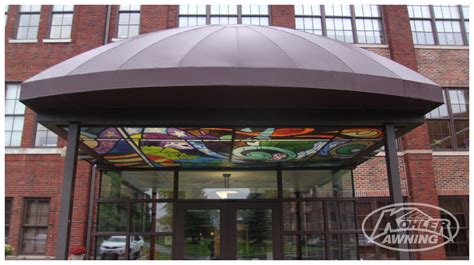 dome awnings commercial business dome awnings kohler awning