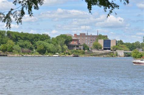 public boat launch fox river il allen park view of illinois 71 bridge illinois river
