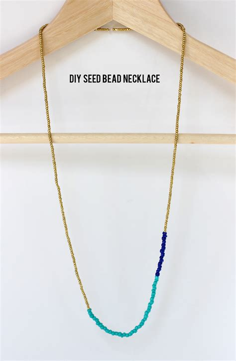 how to bead a necklace 15 diy seed bead necklace patterns guide patterns