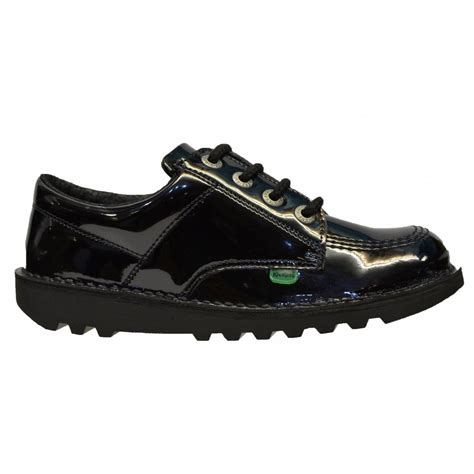 Boots Kickers 1 kickers kickers kick lo y patent leather black z106