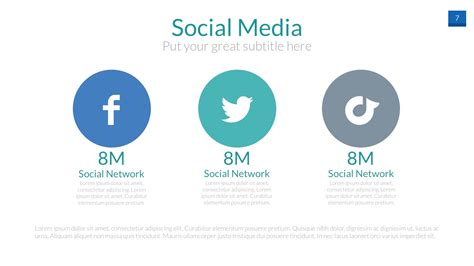 social media caign template social media powerpoint presentation template by