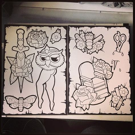 tattoo flash work 1000 images about flash pages of tattoos art on pinterest