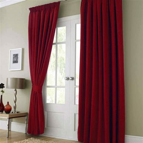 red curtains bedroom 35 red curtains for royal elegance to your living room