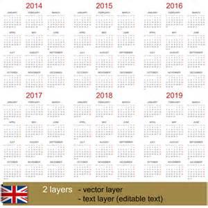 Calendario 2019 Colombia Plantillas De Calendarios En Vector Y Gratis Recursos