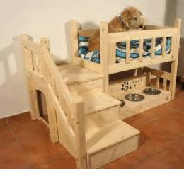 Bunk Bed For Dogs House Bunk Bed This Would Be So For My Small Cocker Spaniel And Mastiff