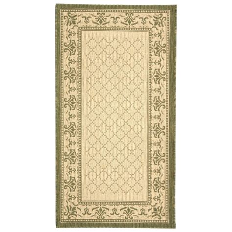 2 X 3 Outdoor Rug Safavieh Courtyard Olive 2 Ft X 3 Ft 7 In Indoor Outdoor Area Rug Cy0901 1e01 2 The
