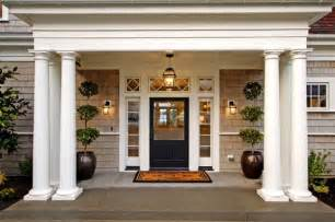 Exterior Entryway Designs by 35 Front Door Flower Pots For A Good First Impression