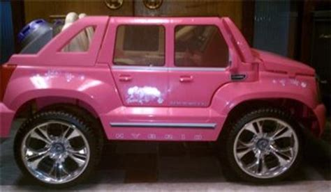 pink cadillac escalade power wheels power wheels hybrid cadillac escalade ext pink ebay