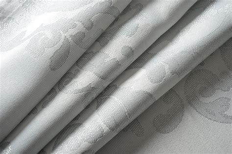 vorhang grau vorhang jacquard gardine verdeckte schlaufen barock lurex