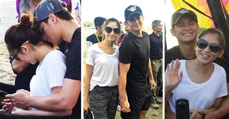 sarah geronimo and matteo spotted sarah geronimo and matteo guidicelli on a hot air