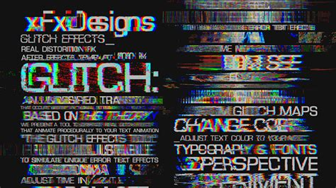 Wedding Font After Effects by Glitch Text Effects Toolkit 30 Title Animation Presets