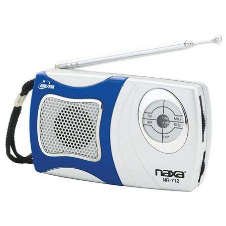 Lu Disco Speaker Melalui Flashdisk Usb Mmc Remote Kg338 naxa am fm mini pocket radio with built in speaker blue nr712 blue