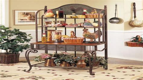 kitchen bakers rack cabinets bakers racks furniture french bakers rack with cabinet