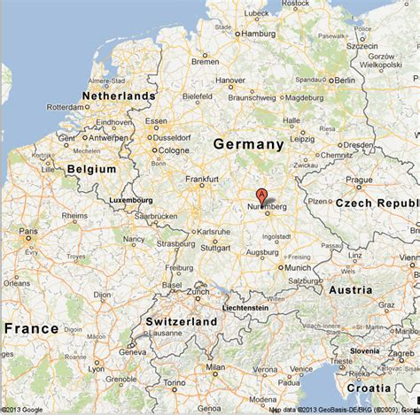 germany satellite map maps germany images