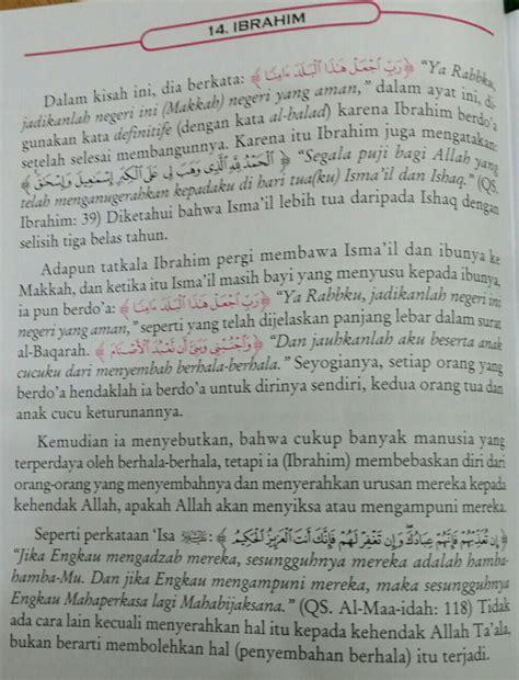 Tafsir Ayat Ayat Pendidikan Abudin Nata indahnya bahasa agungnya islam berhala menyesatkan manusia ikutlah nabi ibrahim dan tidak