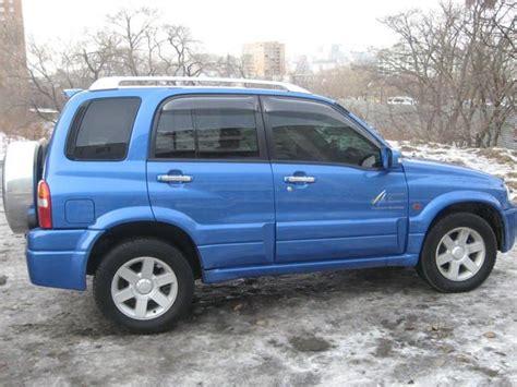 Suzuki Escudo 2002 2002 Suzuki Escudo Pictures