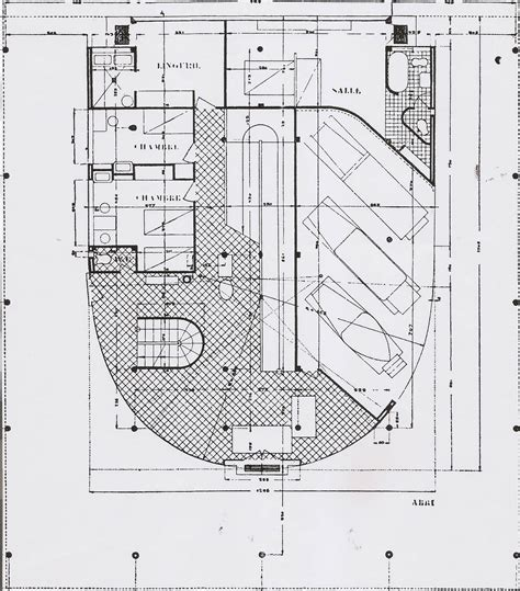 plot plans villa savoye misfits architecture