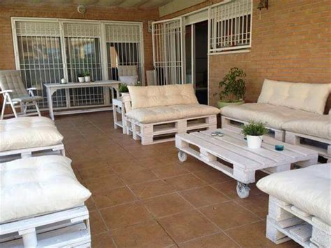 how to build pallet patio furniture diy outdoor patio furniture from pallets 99 pallets