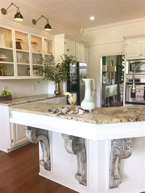 corbels for kitchen island beautiful homes of instagram home bunch interior design