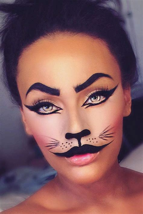 17 pretty makeup looks to try in 2016 allure 33 sexy halloween makeup looks that are creepy yet cute