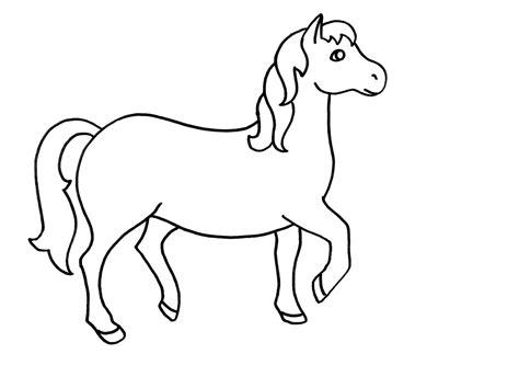 imagenes animales para pintar dibujo colorear 76 pony dibujo de animales para imprimir