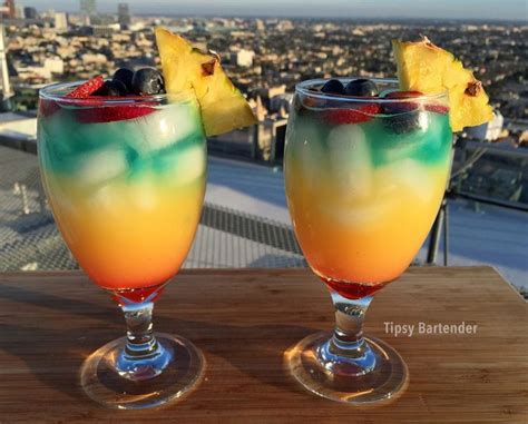 rainbow cocktail drink 24 best images about rainbow drinks on pinterest