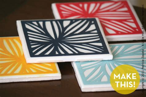 How To Make Paper Coasters - how to make awesome paper cut coasters 187 curbly diy