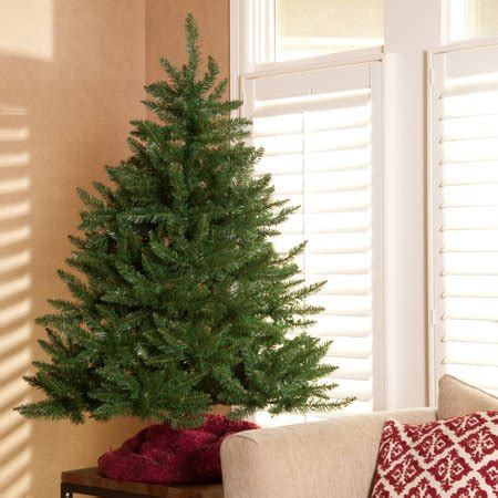 4 12 ft xmas tree at walmart classic tabletop unlit tree 4 5 ft walmart
