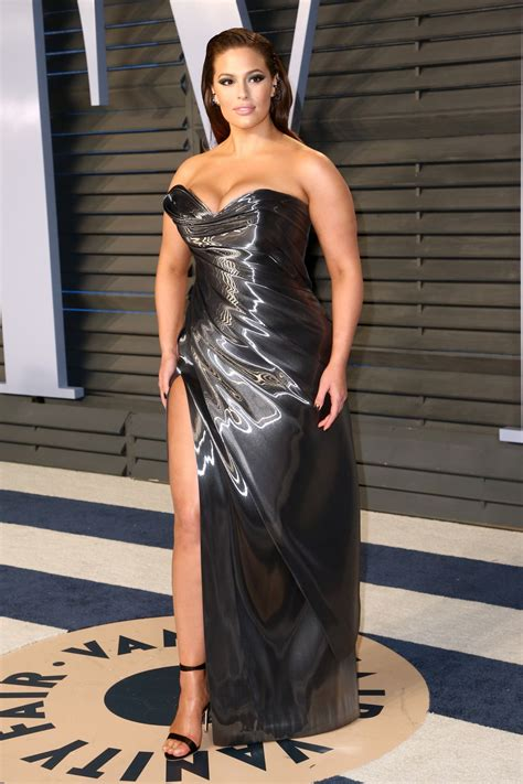 oscars ashley graham ashley graham at 2018 vanity fair oscar party in beverly