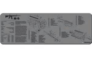 ar 15 m4 rifle tekmat grey gun cleaning mat 12 quot x36 quot w