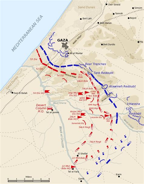 gaza map third battle of gaza wiki fandom powered by wikia