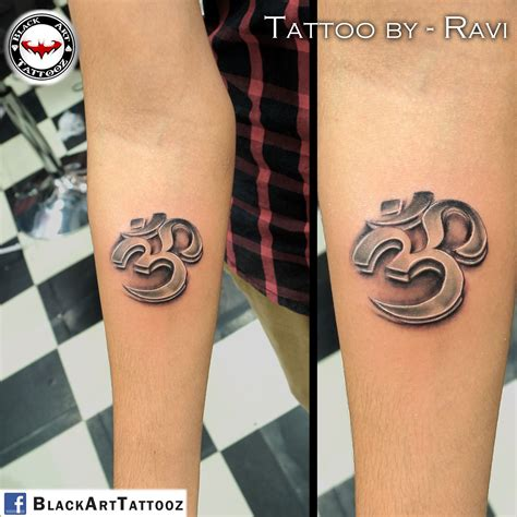 how are 3d tattoos done quot 3d om quot done with keval chudasama tattooart
