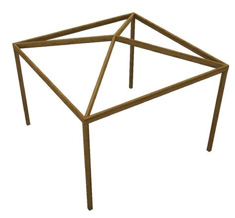 vendita gazebi in legno gazebo quadrato in legno pergola in legno
