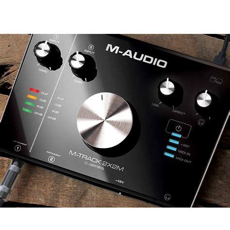 2x2m m audio m track 2x2m 24 192 usb audio midi interface