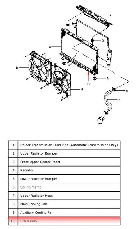 2006 Suzuki Forenza Radiator Suzuki Forenza Transmission Removal Diagram Suzuki Free